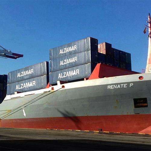 Transporte Marítimo Alzamar