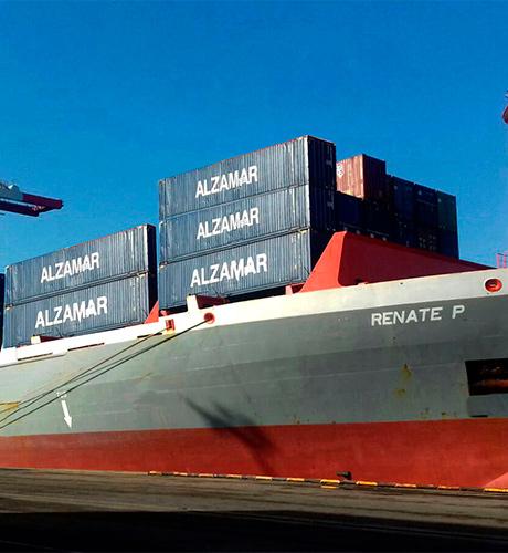 Transporte Marítimo Canarias Alzamar